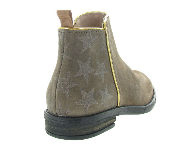Acebos bottines et boots 9514 taupe3208503_5