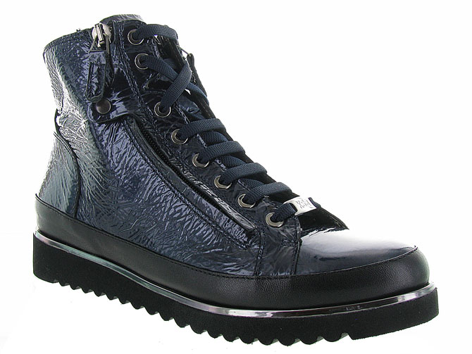 Xsa chaussures a lacets 8936 marine