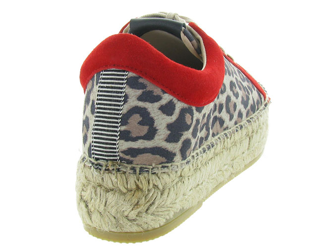 Gaimo chaussures a lacets dania leopard3225401_5