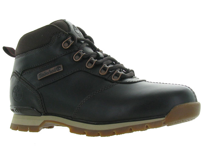 Timberland chaussures a lacets a21ke544 splitrock marron fonce