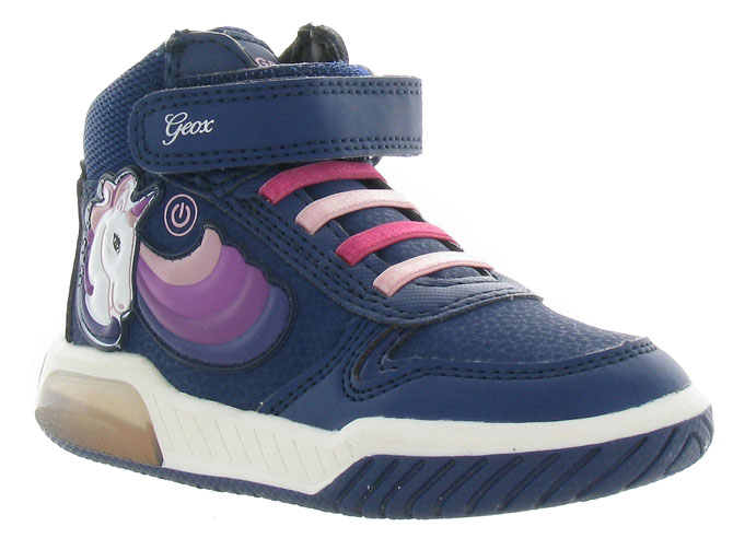Geox baskets et sneakers j94asb inek girl marine