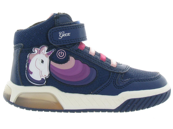 Geox baskets et sneakers j94asb inek girl marine3256501_2