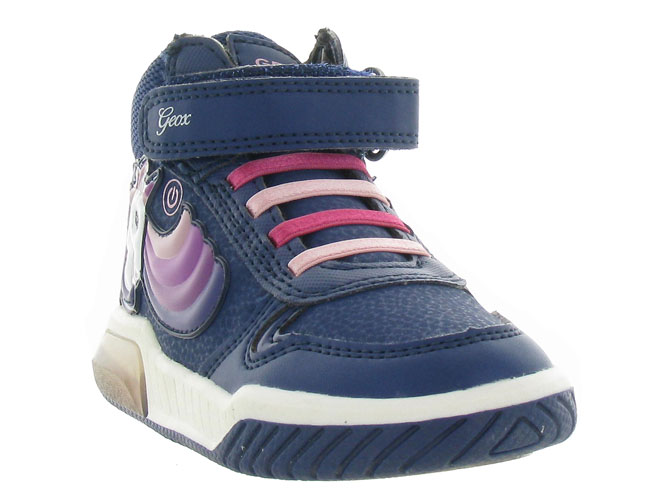 Geox baskets et sneakers j94asb inek girl marine3256501_3