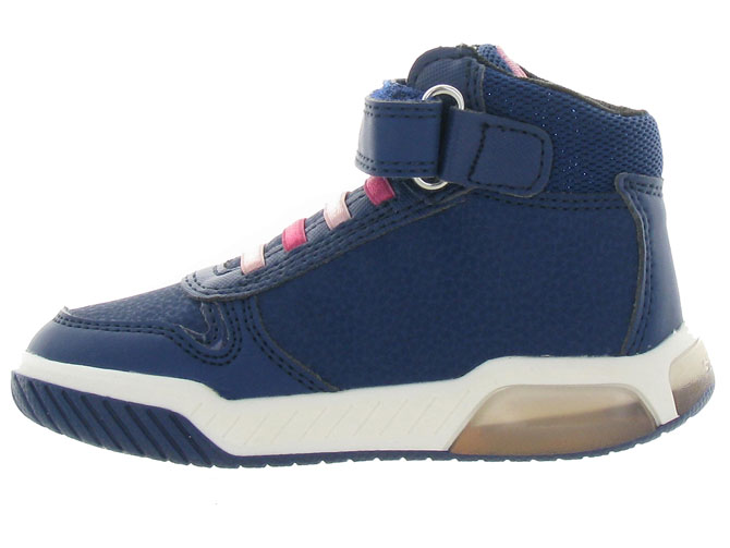 Geox baskets et sneakers j94asb inek girl marine3256501_4