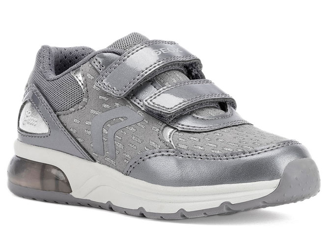 Geox baskets et sneakers j948vb spaceclub argent