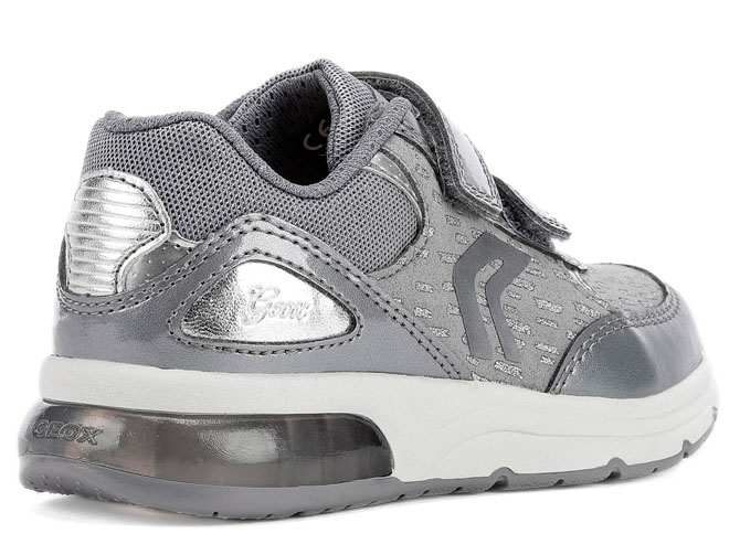 Geox baskets et sneakers j948vb spaceclub argent3257001_4