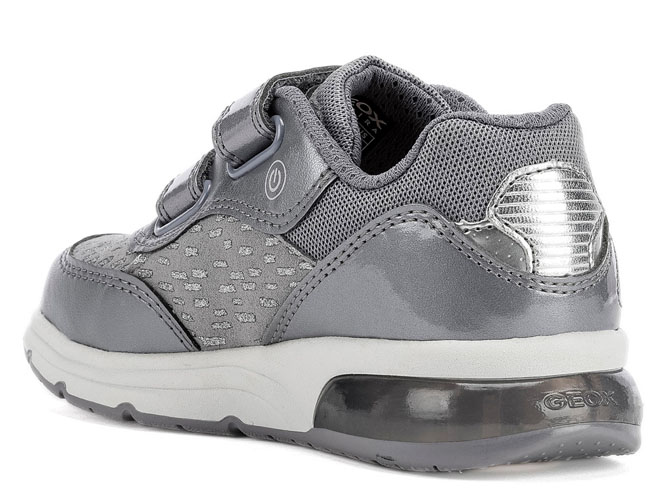 Geox baskets et sneakers j948vb spaceclub argent3257001_5