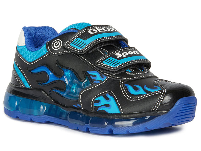 Geox baskets et sneakers j9444c android boy bleu royal