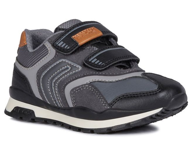 Geox baskets et sneakers j9415a pavel anthracite