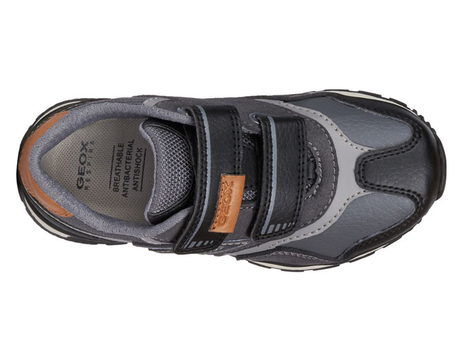 Geox baskets et sneakers j9415a pavel anthracite3257701_6