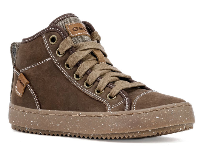 Geox chaussures a lacets j942cg alonisso wwf marron