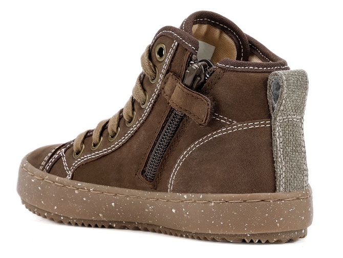 Geox chaussures a lacets j942cg alonisso wwf marron3258901_4