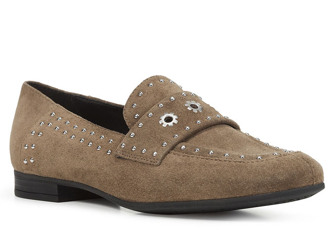 Geox mocassins d948pg marlyna taupe