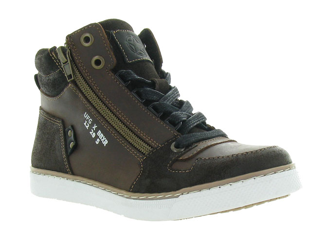 Bullboxer baskets et sneakers agm531 marron