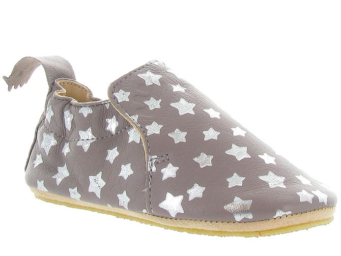 Easy peasy chaussons et pantoufles blublu nuit taupe