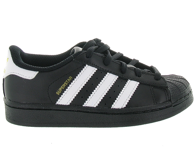 Adidas baskets et sneakers superstar foundation cf noir4095702_2