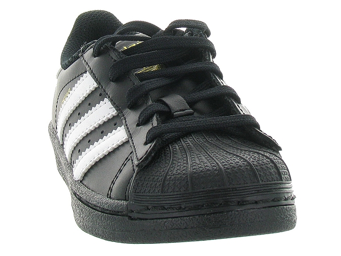 Adidas baskets et sneakers superstar foundation cf noir4095702_3