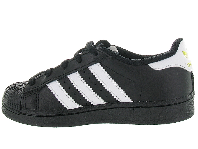 Adidas baskets et sneakers superstar foundation cf noir4095702_4