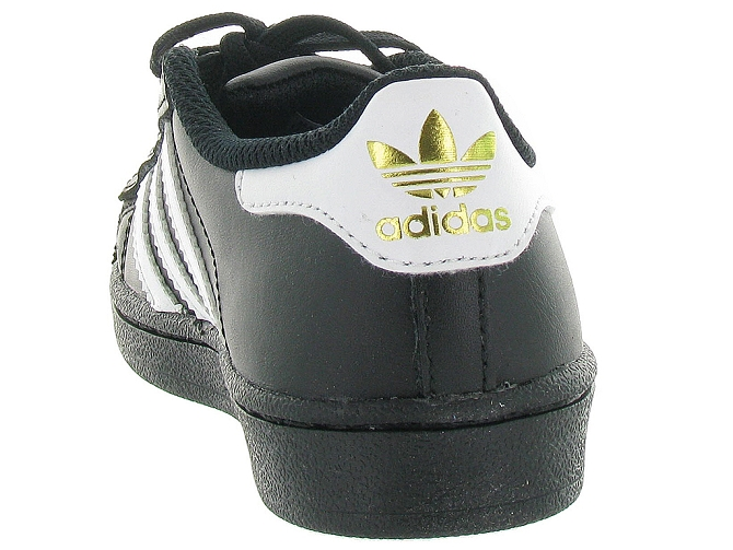 Adidas baskets et sneakers superstar foundation cf noir4095702_5