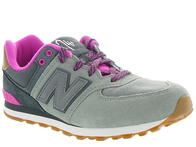 New balance baskets et sneakers kl574nhg gris