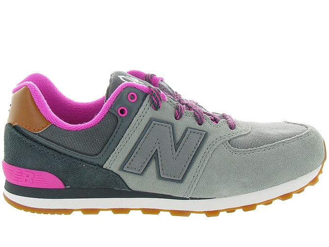 New balance baskets et sneakers kl574nhg gris4108001_2