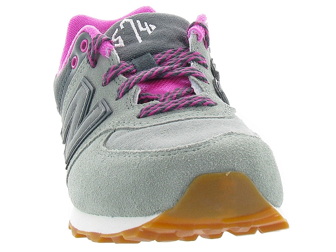 New balance baskets et sneakers kl574nhg gris4108001_3