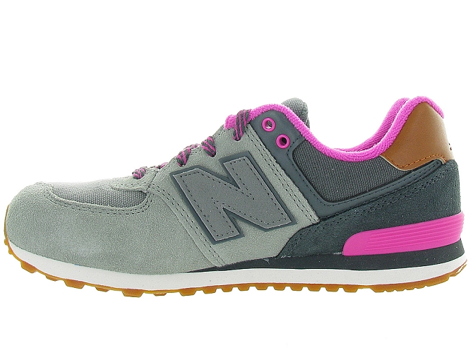 New balance baskets et sneakers kl574nhg gris4108001_4