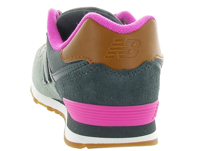 New balance baskets et sneakers kl574nhg gris4108001_5