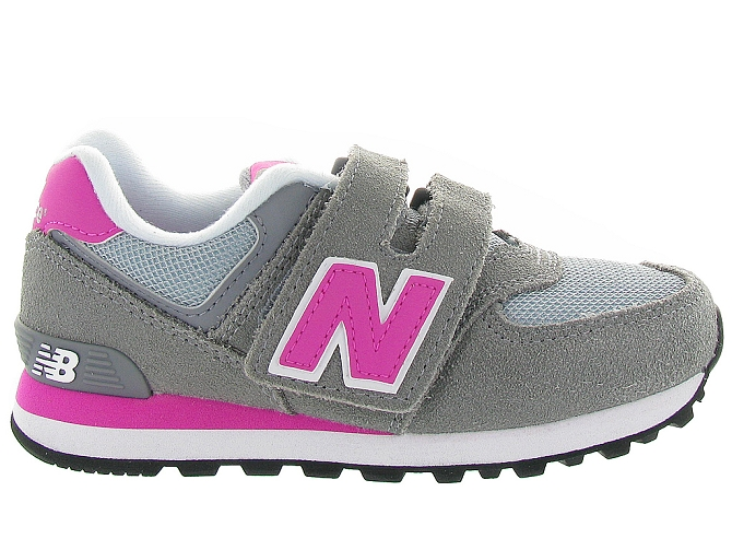 New balance baskets et sneakers kv574 cdy gris4108201_2