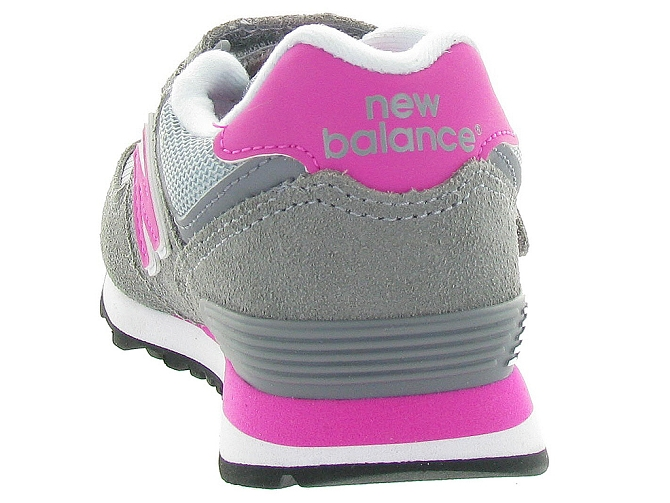 New balance baskets et sneakers kv574 cdy gris4108201_5