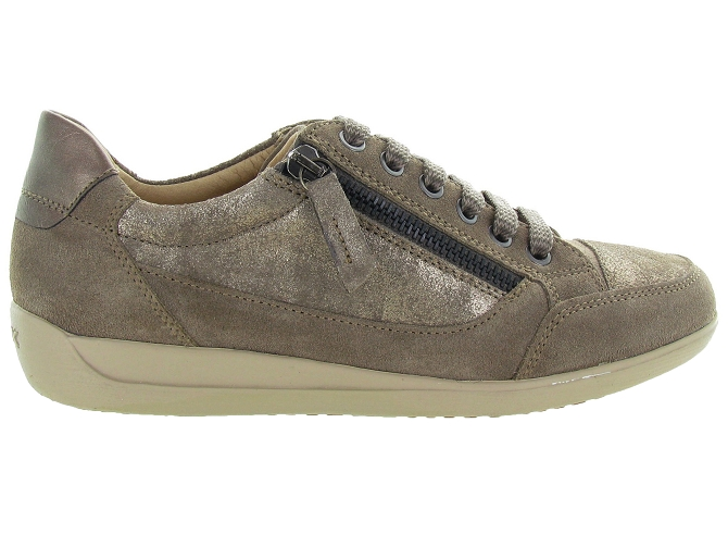 Geox baskets et sneakers d6468a myria bronze4127106_2