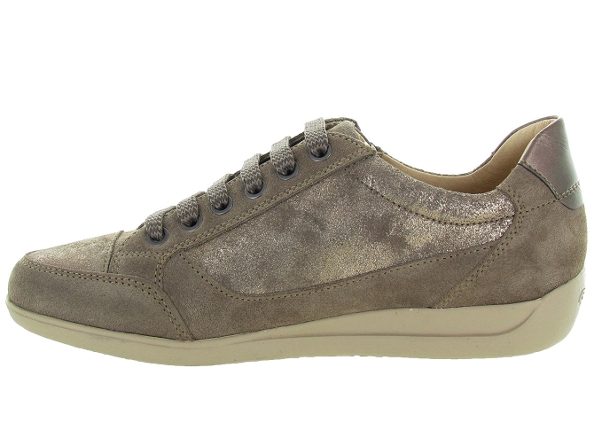 Geox baskets et sneakers d6468a myria bronze4127106_4