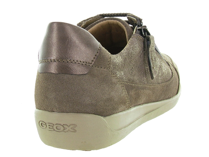 Geox baskets et sneakers d6468a myria bronze4127106_5