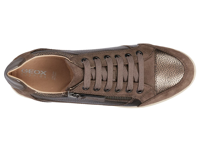 Geox baskets et sneakers d6468a myria bronze4127106_6