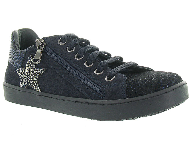 Reqins chaussures a lacets stark stella marine