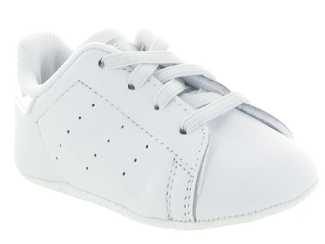 Adidas baskets et sneakers stan crib layette blanc