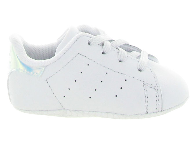 Adidas baskets et sneakers stan crib layette blanc4202402_2