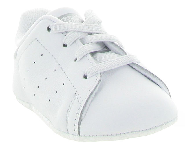 Adidas baskets et sneakers stan crib layette blanc4202402_3