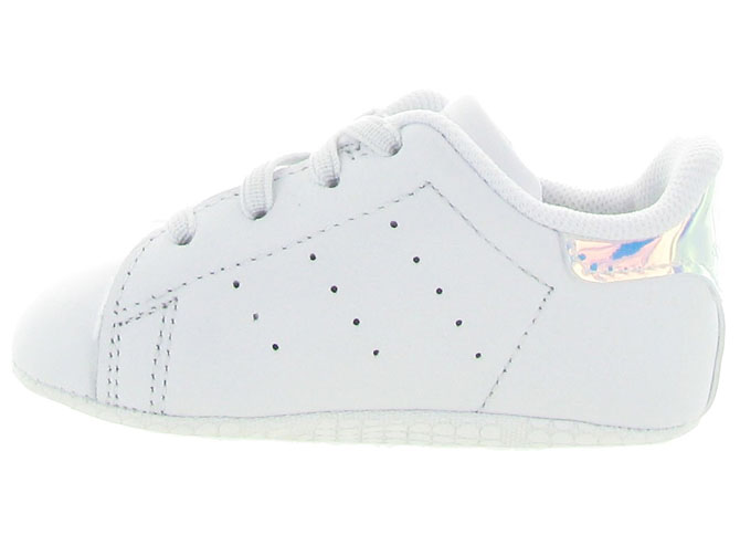 Adidas baskets et sneakers stan crib layette blanc4202402_4
