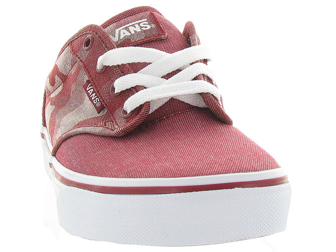Vans baskets et sneakers atwood y camo rouge4242701_3