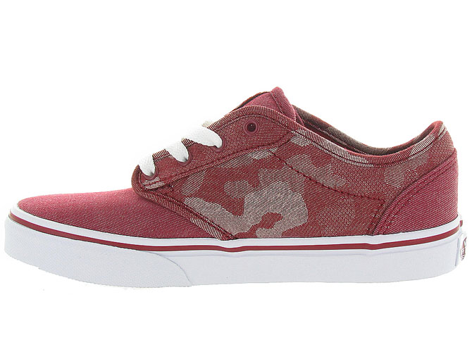 Vans baskets et sneakers atwood y camo rouge4242701_4