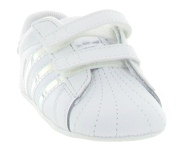 Adidas baskets et sneakers superstar crib girl blanc4247901_3