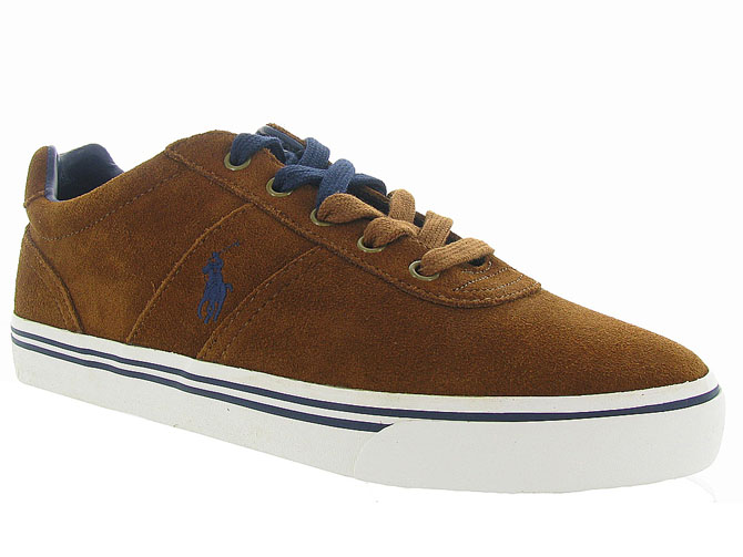 Ralph lauren baskets et sneakers hanford gold
