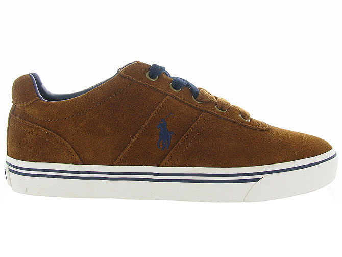 Ralph lauren baskets et sneakers hanford gold4248101_2