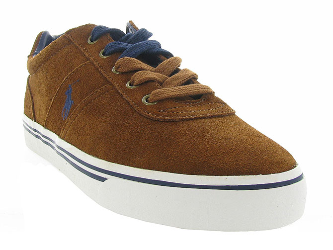 Ralph lauren baskets et sneakers hanford gold4248101_3