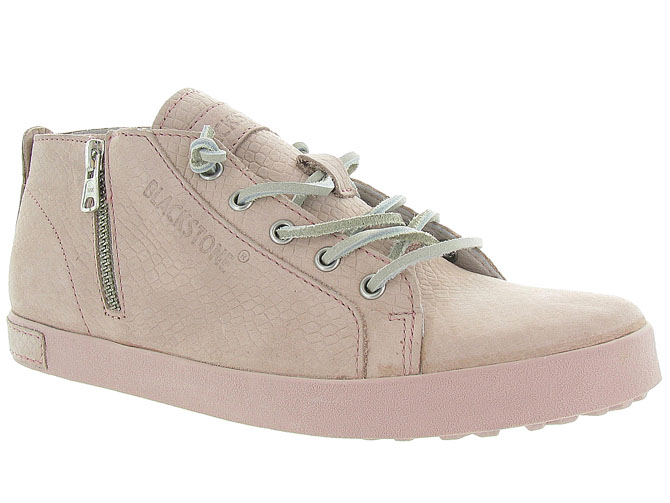 Black stone chaussures a lacets nl35 rose