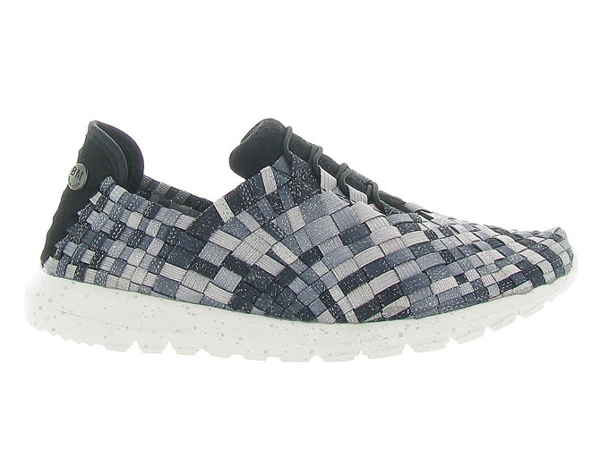 Bernie mev baskets et sneakers runner victoria anthracite4262002_2