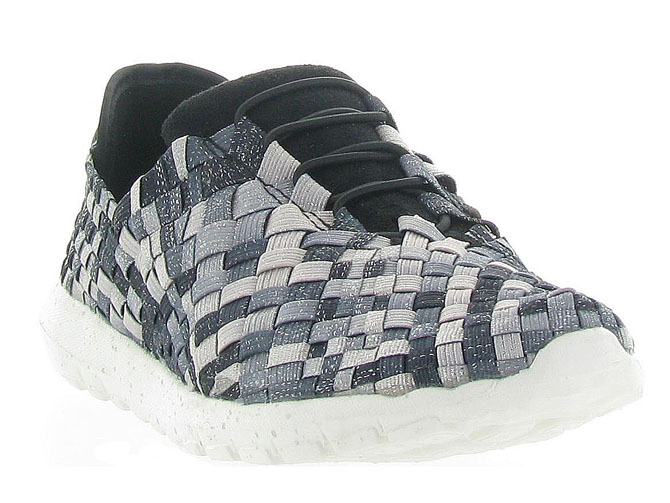 Bernie mev baskets et sneakers runner victoria anthracite4262002_3