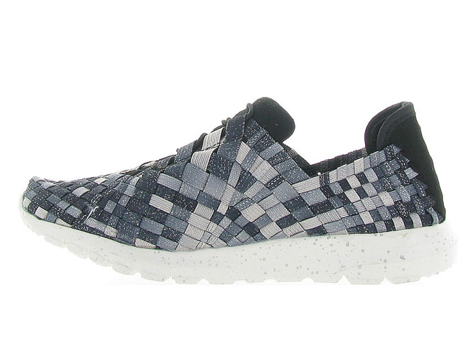 Bernie mev baskets et sneakers runner victoria anthracite4262002_4