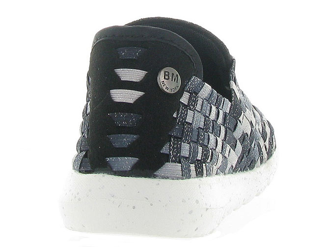 Bernie mev baskets et sneakers runner victoria anthracite4262002_5